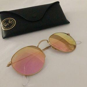 Ray-ban Pink Radient / Gold Sunglasses